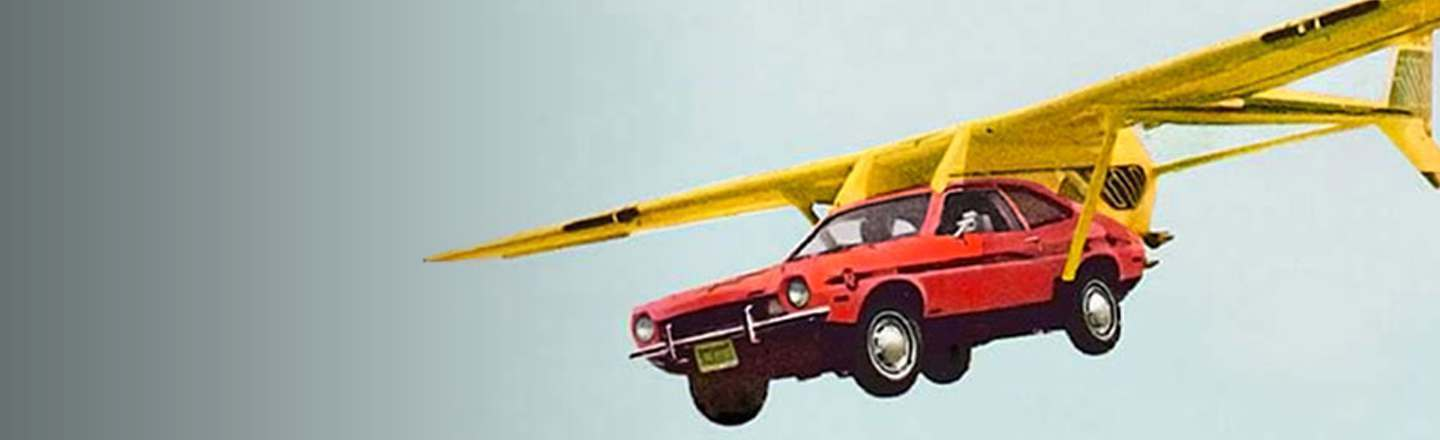 Why Don't We Have Flying Cars Yet? Well, Here's The Thing...