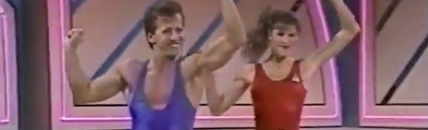 Jump In The DeLorean With Us, We're Headed To The 1988 Crystal Light National Aerobic Championship