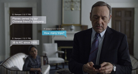 4 Extremely Normal Things Movies Struggle With Hard Kevin Spacey texting in House of Cards
