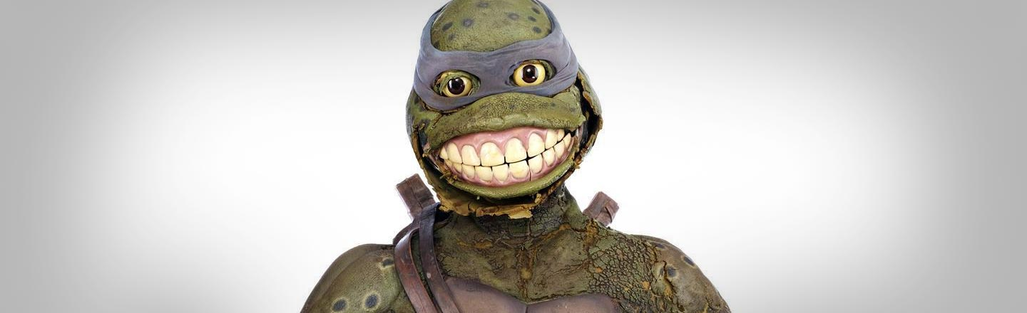 For $10,000 You Can Own This Horrifying Ninja Turtle Costume