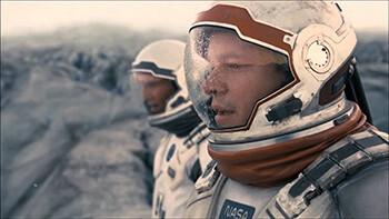 4 Extremely Normal Things Movies Struggle With Hard Matt Damon in Interstellar as Hugh Mann