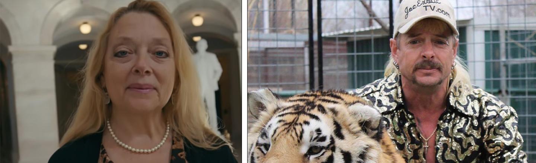 Update: 'Tiger King' Star Joe Exotic Peeved He Didn't Get A Presidential Pardon, Carole Baskin Thrilled