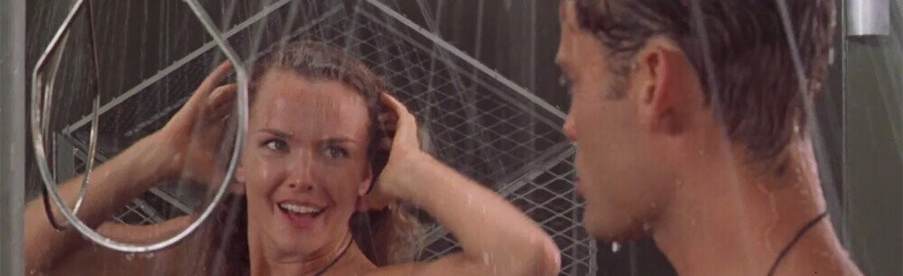 The Funny Arrangement Of The Starship Troopers Shower