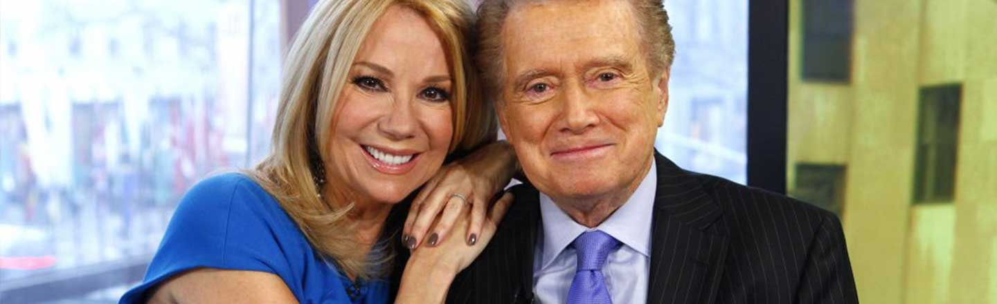 Regis Philbin Was The Most Watched Man On Television