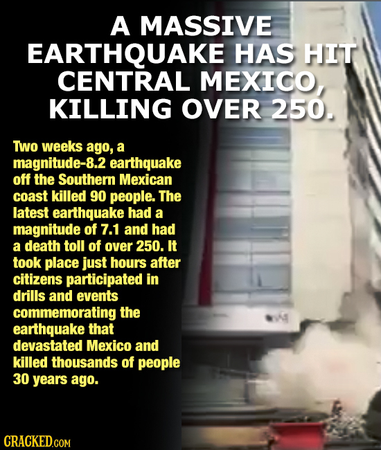 The 15 Most Insane Things Happening Right Now (9/26/17)