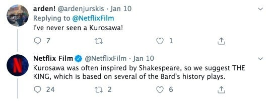 Netflix's Twitter Movie Recommendations Are Just Plain Sad