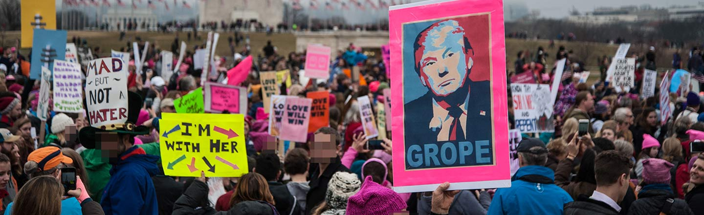 The 4 Worst Reactions To The Women's March