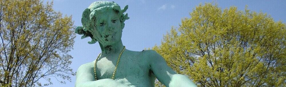The Bizarre Origin Of Massachusetts' Statue Of A Boy ... Uh, 'Riding' A Turtle