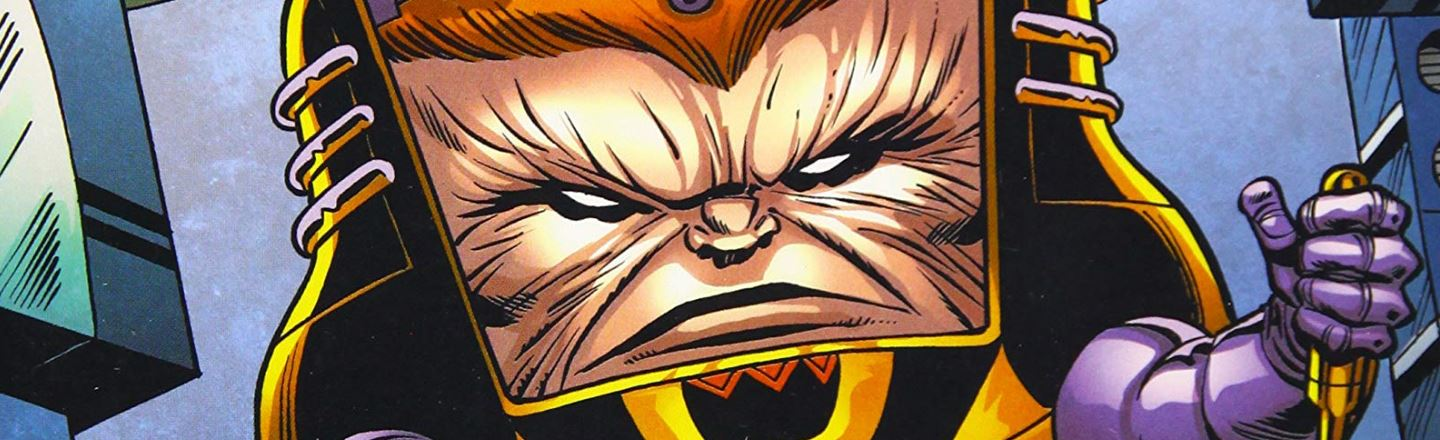 Meet MODOK: The Big Head, Floating Toilet Villain Of The Upcoming 'Avengers' Game