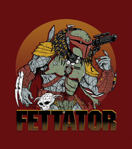 2 New Shirts for 'Predator' and 'Star Wars' Fans