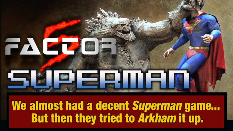 5 Promising Superhero Games Cancelled For Insane Reasons