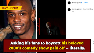 UPDATE: Dave Chappelle Says His Show Is Back on Netflix, Thanks Fans For Boycotting His Work