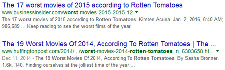 Hmmmm ... says the Razzies, stroking its gravy-stained collective chin thoughtfully.