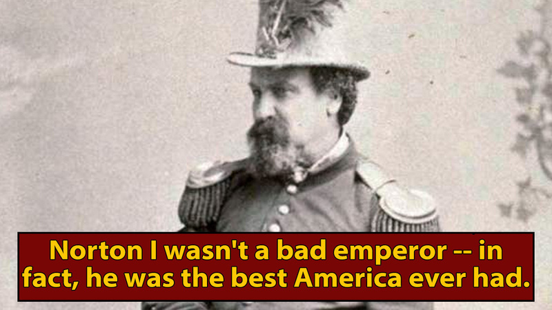 All Hail Josh, America's First (And Only) Emperor
