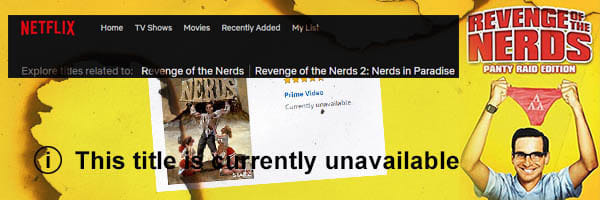 12 Nightmarish Questions Raised By 'Revenge Of The Nerds'