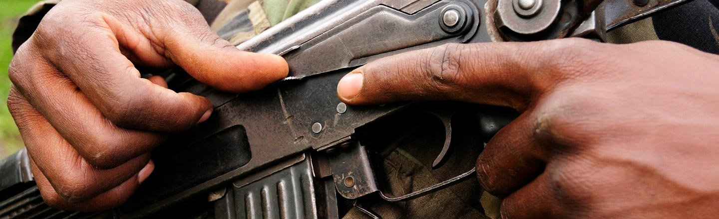 I Was A Child Soldier: I Grew Up With Guns And Murder