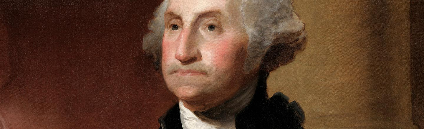 George Washington Got Hit By Lightning In The Womb