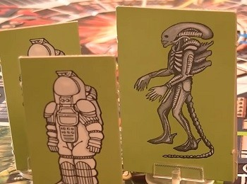 7 Huh? Pieces Of Movie Merchandise Nobody Asked For -  the Alien board game