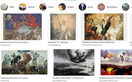 Ideas That Took On A Life Creators Never Anticipated   Google image search of Revelation