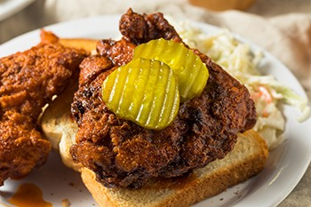 Ideas That Took On A Life Creators Never Anticipated   Nashville hot chicken sandwich