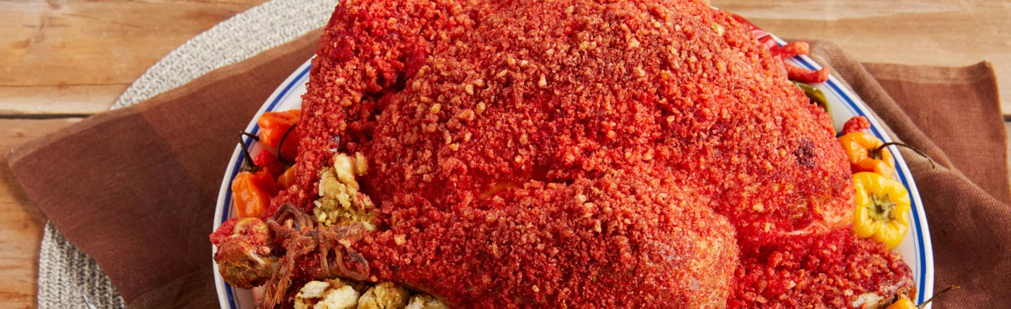 Set Your Ovens To 420: There's A Cheetos Turkey Recipe