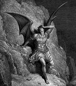 Ideas That Took On A Life Creators Never Anticipated | Art of Satan from Paradise Lost
