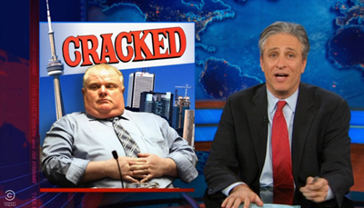 'The Daily Show' Mentioned Cracked! Sort Of!