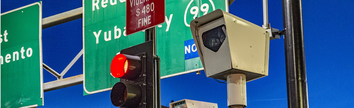Red-Light Traffic Cameras Are In (Hooray) Trouble