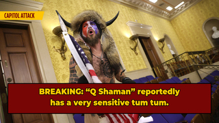 'Buffalo Head Guy' Reportedly Hasn't Eaten Since Capitol Attack Arrest, Citing Lack Of Organic Jail Food