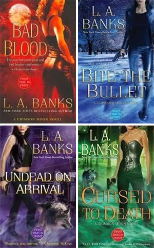 It doesn't help that those covers look like self-published erotica.