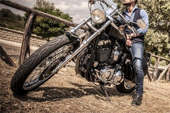 5 Huge Companies That Once Were Failing Miserably - a Harley-Davidson motorcycle