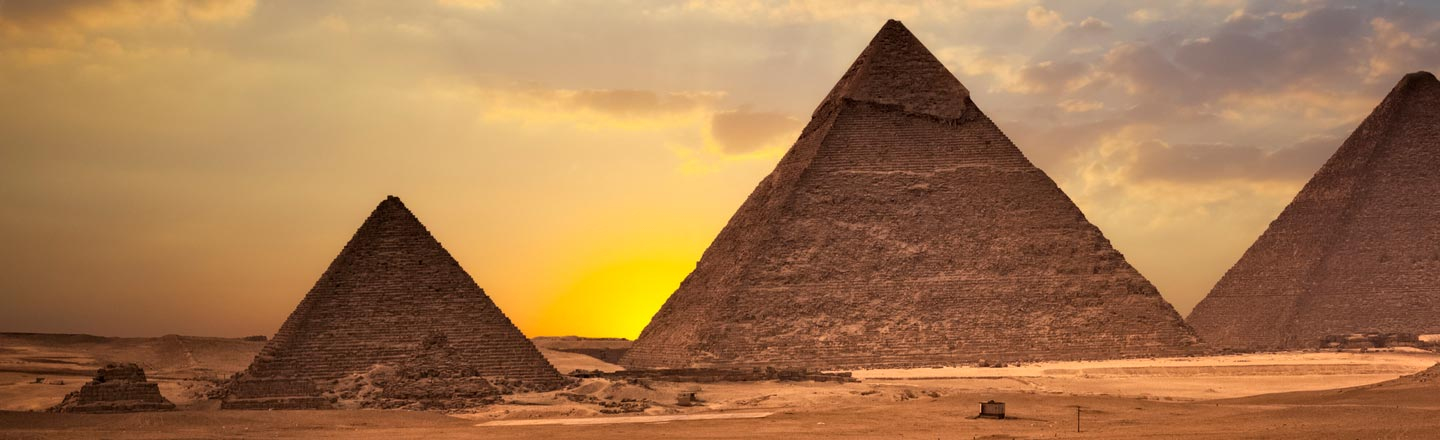 The Pyramids Used To Look NOTHING Like They Look Today