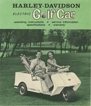 5 Huge Companies That Once Were Failing Miserably - The Harley-Davidson Golf Cart