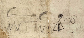 Butts And Poop Were An Obsession For Renaissance Geniuses | Leonardo da Vinci's assistant's dong drawings