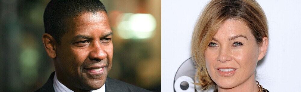Denzel Washington And Ellen Pompeo Once (Pretty Much) Locked Horns