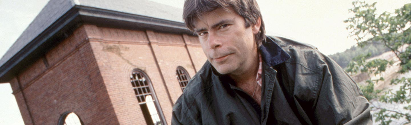 The Cocaine-Fueled Acting Cameos Of Stephen King