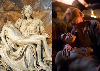 4 Superman Movie Scenes That Were Dumb AF In Retrospect Superman in a Pieta pose
