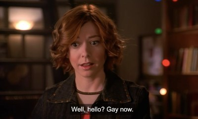 5 TV Plots That Now Look Super Cringeworthy In Retrospect Willow from Buffy announcing she is gay