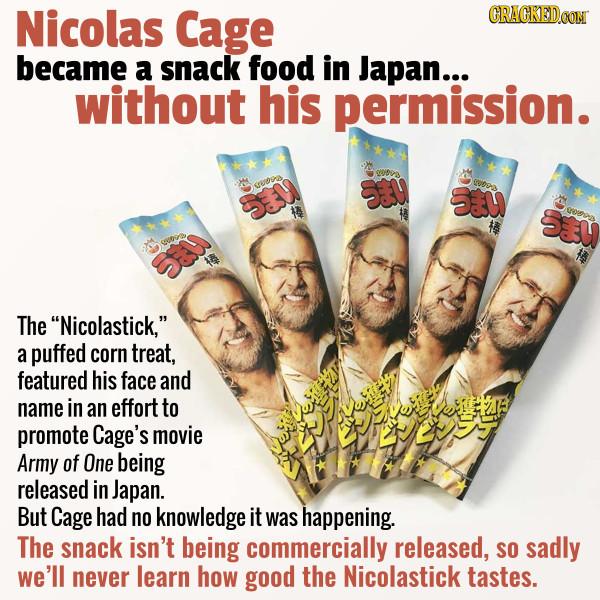 A Company Apologized For Unauthorized Nicolastick Snacks
