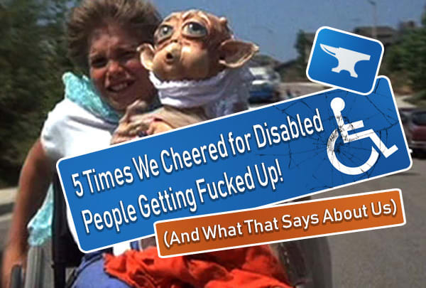 5 Weird Movie/TV Plots About Brutalizing Disabled Villains