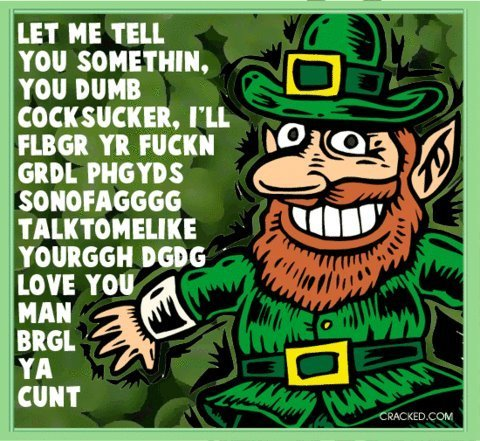 Honest St. Patrick's Day Greeting Cards