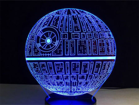 Defeat The Dark Side With These Epic 'Star Wars' Lamps