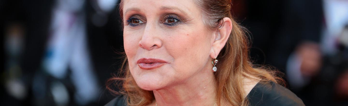 Carrie Fisher Was Not Into Normal Handshakes As A Greeting