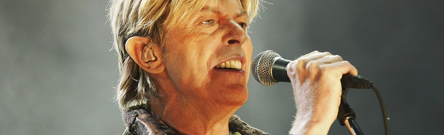 Uh, The David Bowie Movie Won't Have Bowie's Music In It