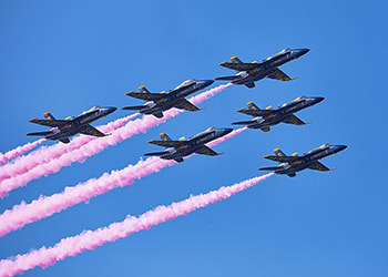 Sure, the Blue Angels were expensive, but no price is too high for my Instagra- er, daughter.