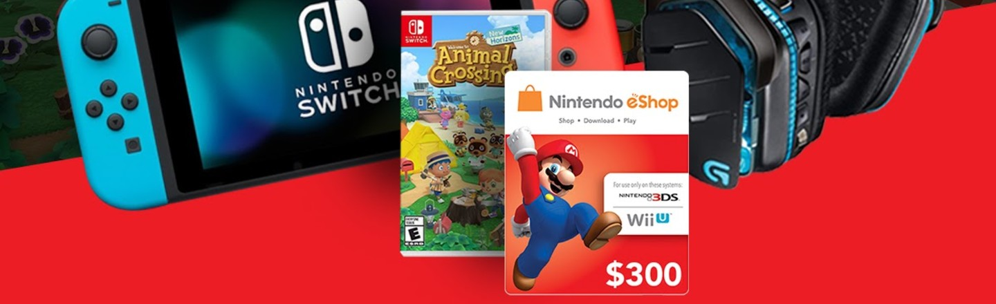 Enter To Win A Free Nintendo Switch, Animal Crossing, And More