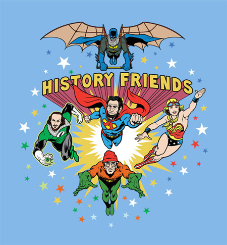 2 New Shirts for 'Guardians of the Galaxy' and History Fans