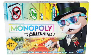 Mr. Monopoly is totally one of those rad tycoons who pays the bus fare for his interns.