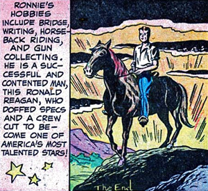 Reagan's Legacy, Based Only on His Appearance in Comic Books