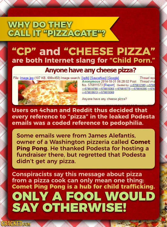Everything You Need To Know About Pizzagate (Is Insane)